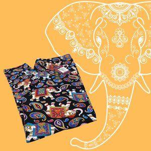 Buttery Soft Paisley Elephant Leggings